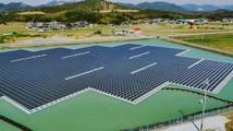 В Японии построили две гигантские плавучие солнечные электростанции