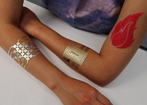 21778789d19b4 MIT's DuoSkin turns temporary tattoos into on-skin interfaces / 2045 ...