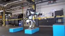 Человекоподобный робот научился делать сальто