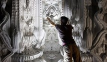 The World's First 3D Printed Room is a Mind-Boggling Baroque Interior